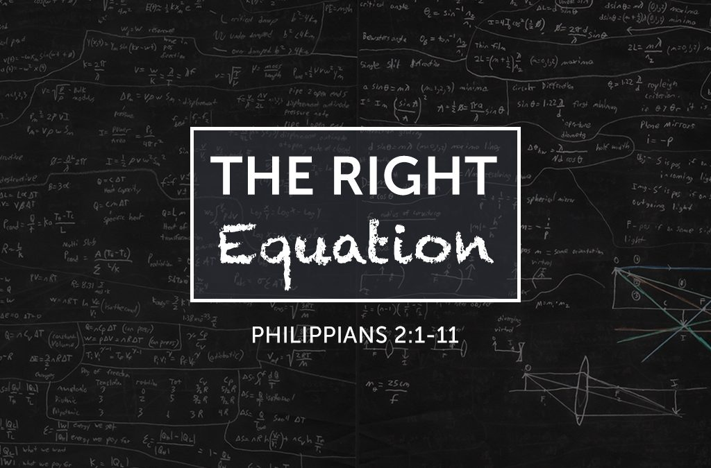 The Right Equation 02/26/17